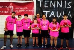 IX Torneig Tennis Taula per a persones amb discapacitat en Vinaros