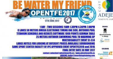 Open internacional de Natación en Tenerife
