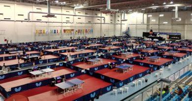 Campeonatos de España de Tenis de Mesa en Antequera (Malaga)