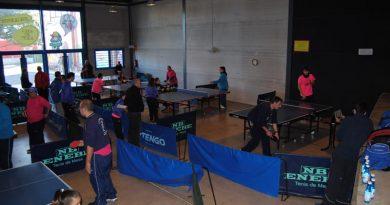 Open de Navidad de Deporte adaptado en Onda, Tenis de Mesa
