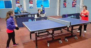 2a. jornada de Liga de Tenis de Mesa FEDDI en Manises (Valencia)
