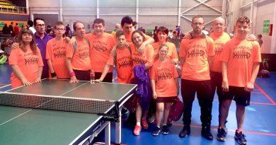 Campeonato Autonómico de Tenis de Mesa para personas con discapacidad intelectual en Castellón