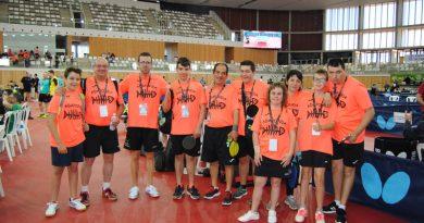 Campeonato Nacional de Tenis de Mesa en Tarragona