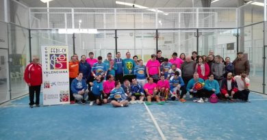 Torneo de Pádel Autonómico en Ontinyent