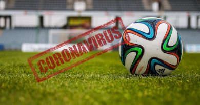 Suspensión de la actividad deportiva