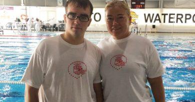 Control de Natación para Pablo Huguet en Valencia