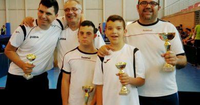 Campeonato Autonómico de Tenis de Mesa en Dolores (Alicante)