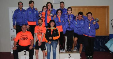 Jornada lúdica de tenis de mesa en Onda, entrega de trofeos liga FEDICV 2019