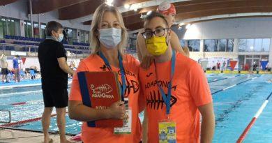 Participación del nadador Eric Villegas en el Campeonato de España de Natación Adaptada en Oviedo