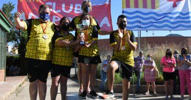 Entrega de trofeos del Campeonato de España de Natación por ranking FEDDI